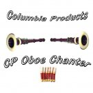 Oboe Chanter - Rosewood - Natural Brown Wood Color - CP Made - High Quality