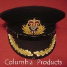 ROYAL NAVY OFFICERS HAT CAP CAPTAIN BLACK NEW ANY SIZE