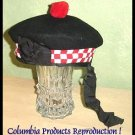 CP Brand Irish - Scottish Balmorals Hat Red/Wht Dice - Free Shipping