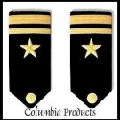 CP Brand NEW US NAVY HARD Shoulder Boards FOR LIEUTENANT JG Rank - Columbia Products