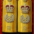 NEW UK ROYAL NAVY Hard Shoulder Board FLEET ADMIRAL Rank - CP BRAND By COLUMBIA PRODUCTS