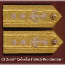 CP Brand NEW US NAVY Hard Shoulder Boards REAR ADMIRAL 2 Stars Rank, By COLUMBIA PRODUCTS