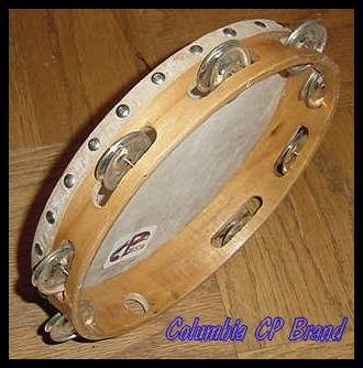 Church TAMBOURINES 10 Inches CP Brand New Single Row