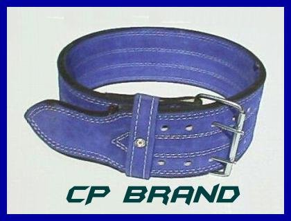 CP BRAND NEW POWER WEIGHT LIFTING BELTS BLUE FREE SHIP