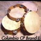 "SIX Church TAMBOURINES Size 8"" CP Brand New Single Row"