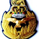 ROYAL AIR FORCE HAT CAP COMMODORE Bullion Badge QUEEN