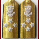 NEW US COAST GUARD Shoulder Boards ADMIRAL 4 Stars