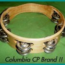 "CP TAMBOURINES Double Row Jingles HEADLESS 8"" Free Ship"