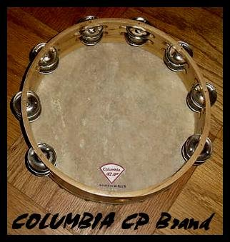 Church TAMBOURINES 10 Inches CP Brand New Double Rows