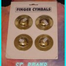 CP BRAND NEW ZILLS FINGER CYMBALS TWO PAIRS Belly Dance