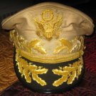 US General Douglas MacArthur's Uniform Khaki Hat NEW Size 57, 58, 59, 60, 61, 62