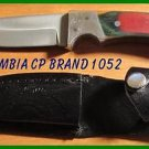 CP Brand Stainless Blade Hunting Knife New - USA FREE SHIP With Leather Holster