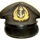VIETNAM NAVY OFFICER HAT BADGE NEW HAND EMBROIDERED FREE SHIP USA CP MADE
