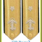 US NAVY HARD SHOULDER BOARDS 1 STAR LOWER DECK ADMIRAL RANK CP MADE HIGH QUALITY
