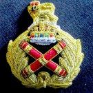 UK ROYAL FIELD MARSHALL HAT CAP Bullion Badge KING CROWN USA FREE SHIP CP MADE