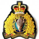 ROYAL CANADIAN MOUNTED POLICE BLAZER BADGE (1) NEW HAND EMBROIDERED CP MADE