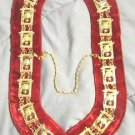 MASONIC REGALIA  SHRINERS NEW DRESS METAL CHAIN COLLAR - CP MADE