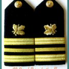 US NAVY HARD Shoulder Boards LT. COMMANDER Supply Corp - CP MADE