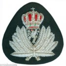 NORWAY NAVY OFFICER HAT CAP BADGE NEW HAND EMBROIDERED CP MADE