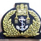 BRUNEI NAVY OFFICER HAT CAP BADGE NEW HAND EMBROIDERED CP MADE