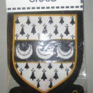 CRAIG SCOTTISH CLAN BADGE NEW HAND EMBROIDERED CP MADE, HI QUALITY USA FREE SHIP