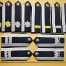US AIR FORCE MALE MESS DRESS SHOULDER BOARDS - ALL RANKS - CURRENT ISSUE CP MADE