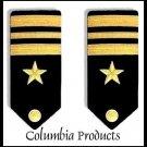 NEW US NAVY LINE OFFICER LIEUTENANT COMMANDER RANK HARD SHOULDER BOARDS AUTHENTIC HI QUALITY