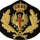 SPANISH NAVY OFFICER HAT CAP BADGE NEW HAND EMBROIDERED CP MADE HIGH QUALITY