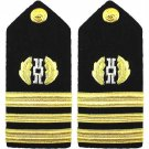 NEW US NAVY LIEUTENANT COMMANDER JUDGE ADVOCATE BRANCH HARD SHOULDER BOARDS CP