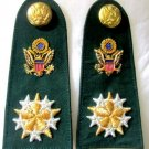 NEW US SIX STARS GENERAL ADMIRAL RANK CP MADE HIGH QUALITY SHOULDER BOARDS PAIR