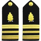 NEW US NAVY LIEUTENANT COMMANDER RANK DENTAL CORP HARD SHOULDER BOARDS CP MADE