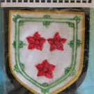 LIVINGSTON SCOTTISH CLAN BADGE NEW CP HAND EMBROIDERED QUALITY COLLECTORS ITEM