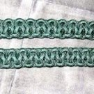 HAND MADE SILK CORD GREEN COLOR - US ARMY OR BAND UNIFORM ACCESSORIES CP MADE