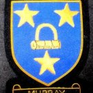 MURRAY SCOTTISH CLAN BADGE NEW HAND EMBROIDERED CP MADE QUALITY US FREE SHIP