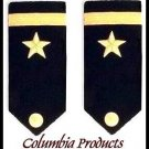US NAVY NEW ENSIGN RANK HARD SHOULDER BOARDS PAIR AUTHENTIC HIGH QUALITY CP MADE
