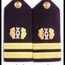 NEW US NAVY HARD Shoulder Boards Lieutenant Judge Advocate - HI QUALITY CP MADE