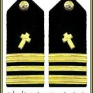 NEW US NAVY HARD Shoulder Boards LIEUTENANT COMMANDER CHRISTIAN CHAPLAIN CP MADE
