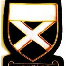 MOFFATT SCOTTISH CLAN BADGE NEW CP HAND EMBROIDERED QUALITY COLLECTORS ITEM