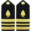 NEW US NAVY LT COMMANDER MEDICAL SERVICES HARD SHOULDER BOARDS AUTHENTIC CP MADE
