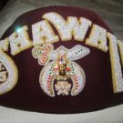 Masonic Shriner's SHAWALL Shrine Collectible Fez Hat & Tassel Hi Quality CP MADE