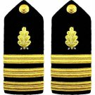 NEW US NAVY COMMANDER RANK DENTAL CORP HARD SHOULDER BOARDS AUTHENTIC CP MADE