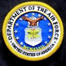 UNITED STATES AIR FORCE DEPARTMENT BADGES NEW HAND EMBROIDERED CP MADE FREE SHIP