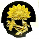 P & O OCEAN LINE SHIP CREW AND OFFICERS HAT CAP BADGE NEW HIGH QUALITY CP MADE