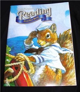Scott Foresman Reading Grade 1.2-1.6 Student New workbooks set of 5 books in all