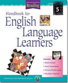 Houghton Mifflin Reading Handbook for Engllish Language Learners Grade 5