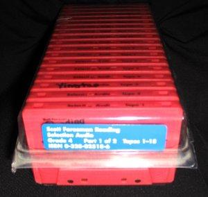 Scott Foresman Reading Grade 4 Reading Background-Building Audio Cassette Tapes Set of 15