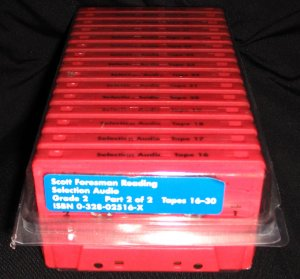 Scott Foresman Reading Grade 2 Reading Background-Building Audio Cassette Tapes Set of 15