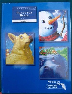 Harcourt Language Practice Book Set Volumes 1 & 2 2002 Grade 1 Student Edition