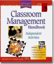 Houghton Mifflin Reading Classroom Management Handbook Grade 5 Teachers Edition