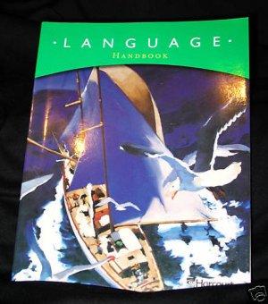 Harcourt Language Handbook Grade 5 2003 Homeschool Student edition